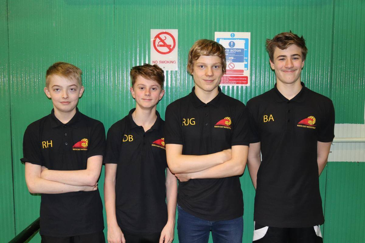 Sedgefield club's youth water polo players secure bronze medals